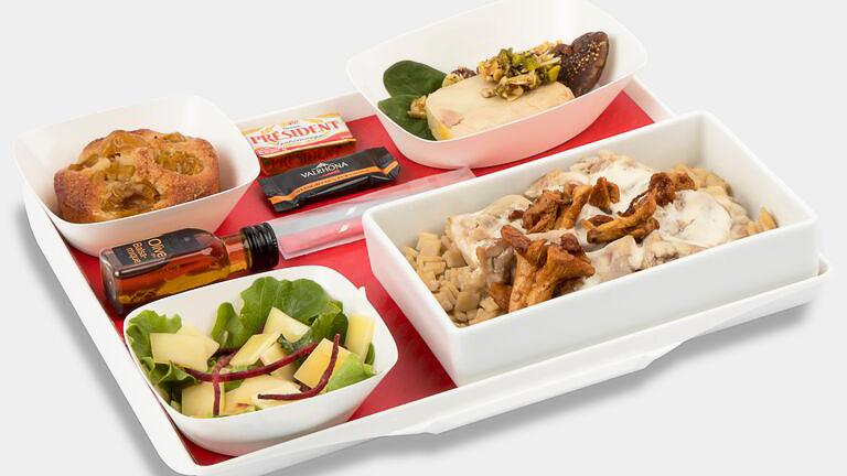 Air France, offre de restauration à bord pendant la période Covid19,
