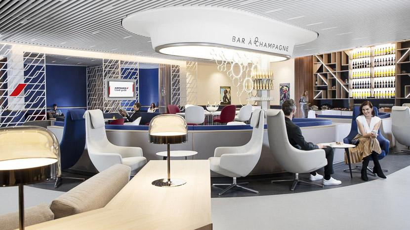 Air France, services proposés dans les salons pendant la période Covid19,