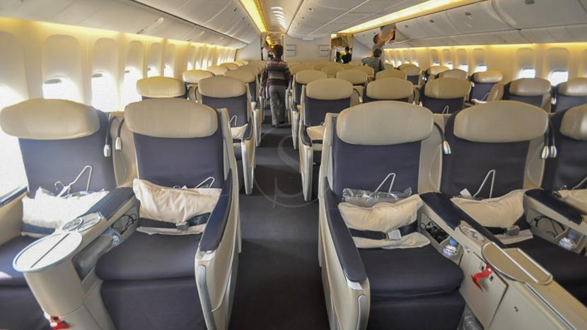 Sur-classement en Classe Affaires, Aérien, Classe Affaires Air France