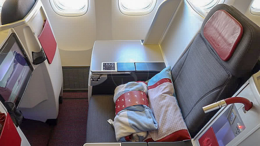 Sur-classement en Classe Affaires, Aérien, Classe Affaires Swiss