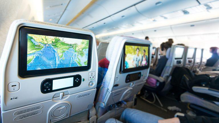 Réservation de siège à bord, Aérien, A bord des avions