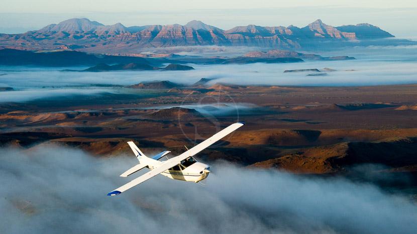 Avion taxi en Afrique, Flyin Safari en Namibie © Dana Allen - Wilderness