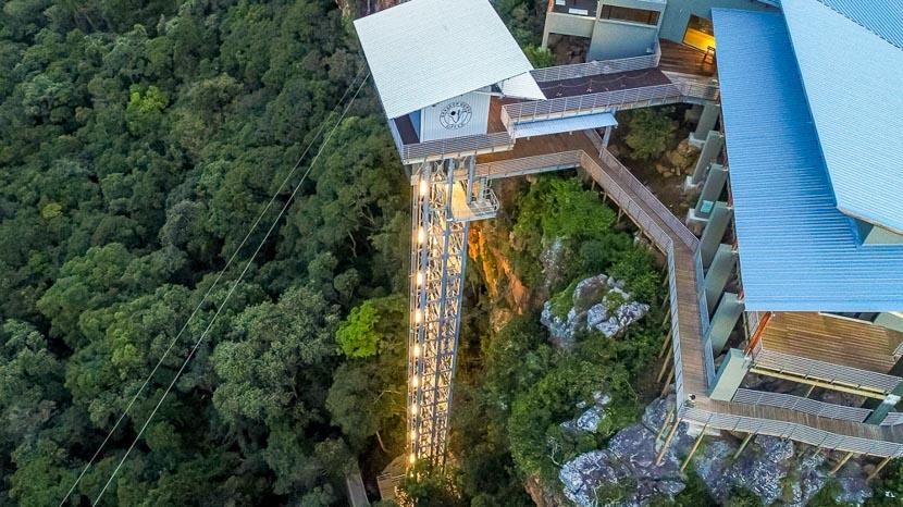 Ascenseur panoramique dans la gorge de Graskop, Ascenseur Panoramique Graskop, Afrique du Sud