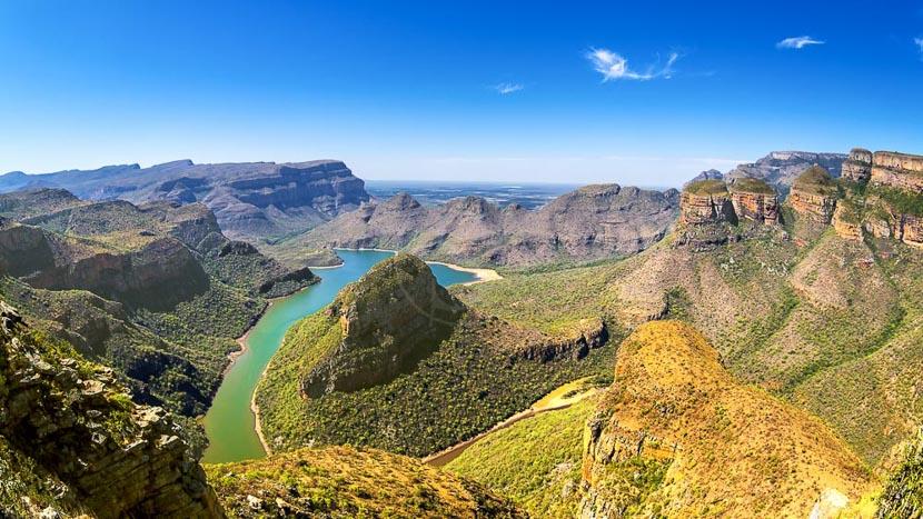 Survol du Blyde River Canyon en montgolfière, Blyde River Canyon, Afrique du Sud