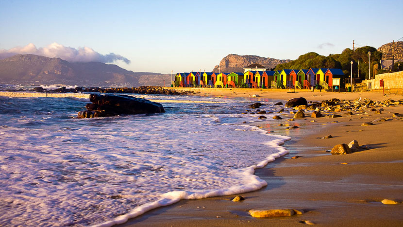 Parapente au dessus de Cape Town, Cape Town, Afrique du Sud