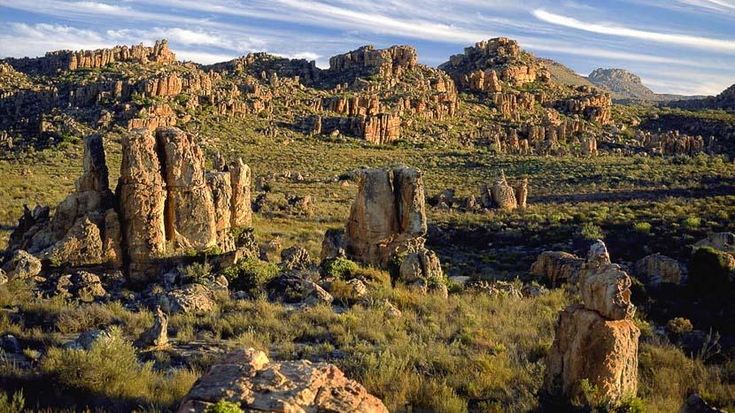 Les paysages du Drakensberg, Drakensberg, Afrique du sud