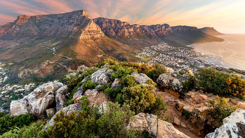Montagne de la Table, Cape Town, Afrique du Sud