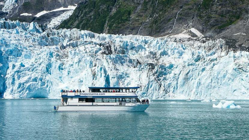 Croisière au glacier Columbia, Prince William Sound, Alaska, Etats-Unis