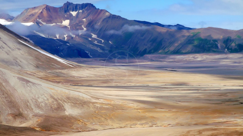La vallée des 10 000 fumées, Valley of ten thousand smokes, Alaska, Etats-Unis