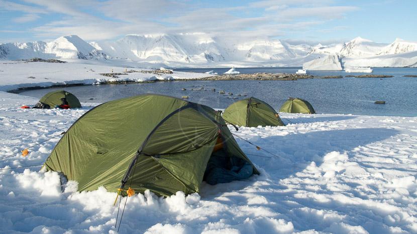 Antarctique Express jusqu'au Cercle Polaire, Campement en Antarctique © Quark Expeditions