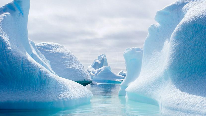 Croisière en Antarctique et île Shetland du Sud, Glaces autour de Galindez Island © Quark - Caroline Modolo