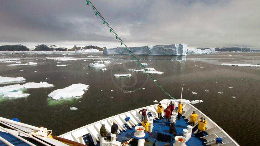 Croisière en Antarctique et île Shetland du Sud, Croisière sur le Sea Spirit © Quark - Eric Lindberg