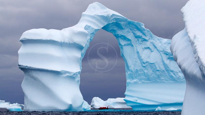 Des icebergs et glaciers version XXL, Péninsule, Antarctique © Shutterstock
