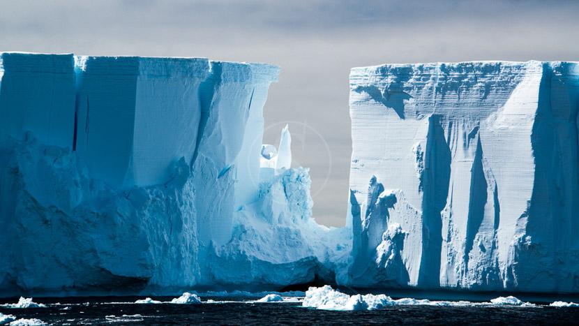 Des icebergs et glaciers version XXL, Mer de Weddell, Antarctique © Shutterstock