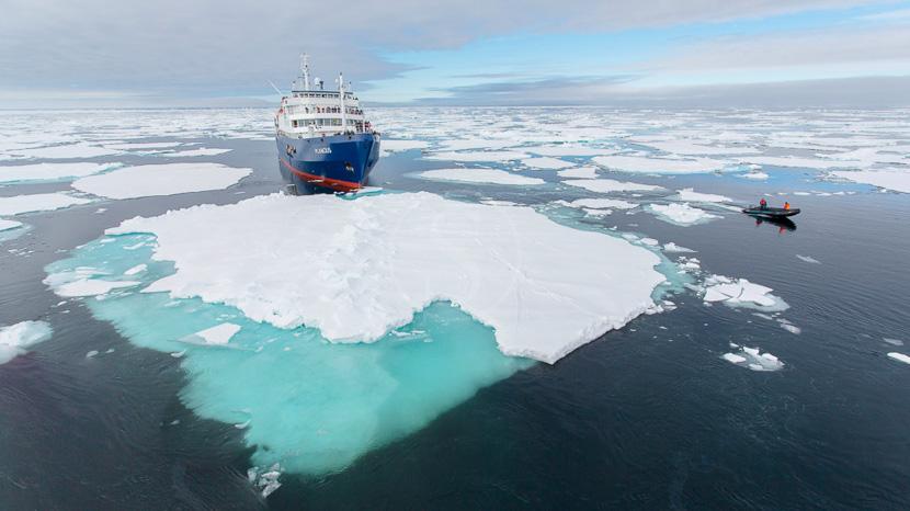 Au-delà du cercle polaire , Plancius © Oceanwide