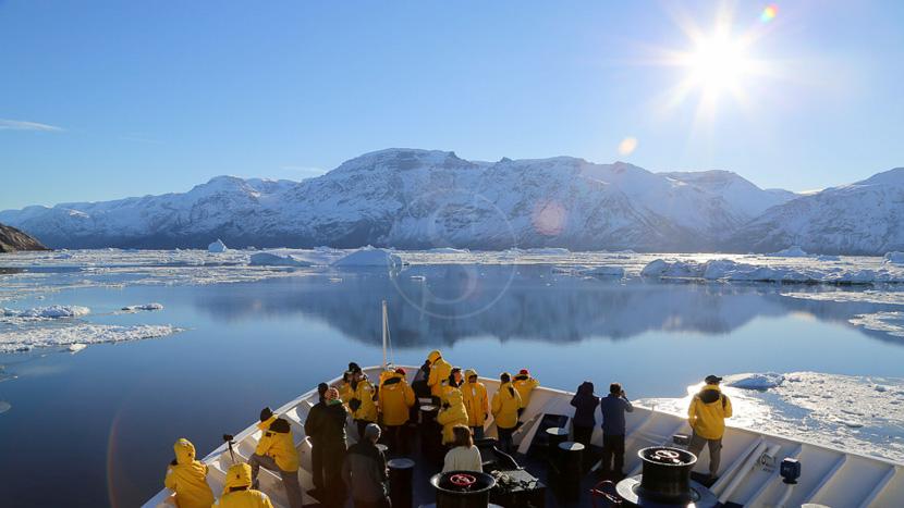 Croisière en Antarctique et île Shetland du Sud, Croisière en Antarctique © Quark - Lynn Woodworth