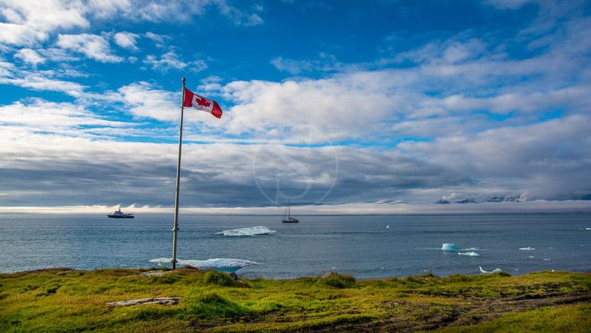 Le passage du Nord Ouest avec Ponant, Pond Inlet, Canada © Shutterstock