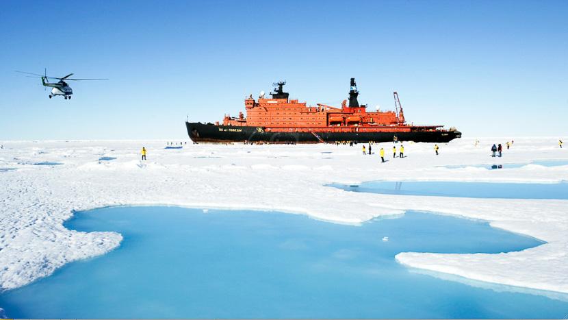 Croisière au Pôle Nord, The Victory, Pôle Nord © John Weller