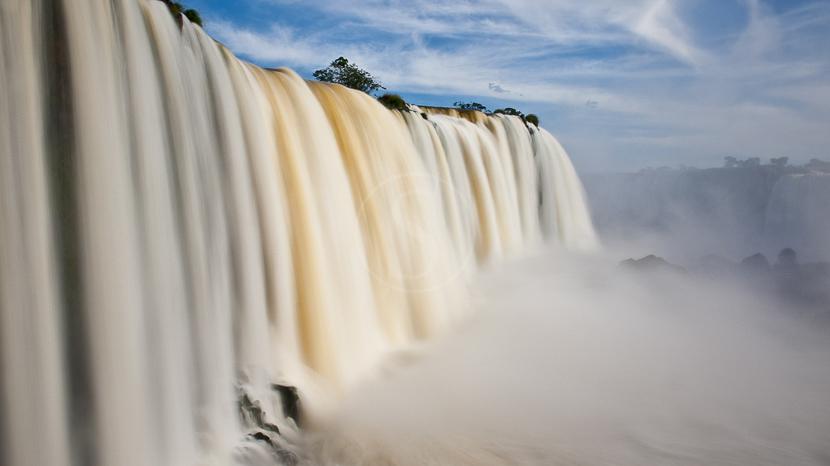 Chutes d'Iguazu coté argentin, Chutes Iguazu, Brésil
