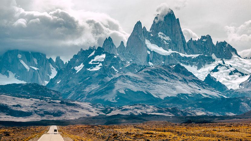 Mythique route 40, Fitz Roy, Argentine