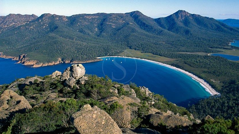 La Tasmanie, Parc de Feycinet, Tasmanie, Australie © OT Australia