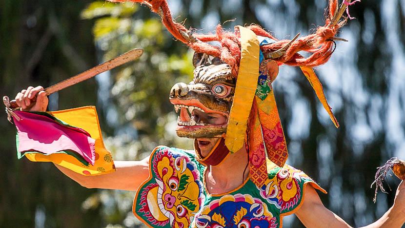 Les festivals au Bhoutan, Festival au Bhoutan © Mihai Morcov