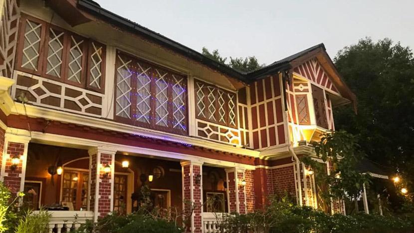 Déjeuner colonial au House of Memories, House of Memories à Yangon, Birmanie
