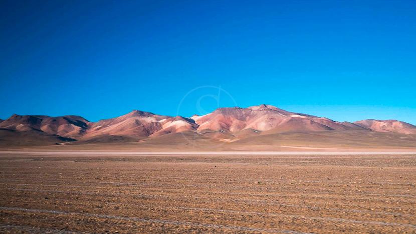 Le désert Siloli, Désert de Siloli, Bolivie