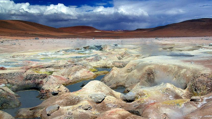 Sol de Mañana, Geysers sol de Manana, Bolivie