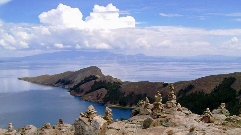 L'île du soleil, Ile du soleil Lac Titicaca, Bolivie