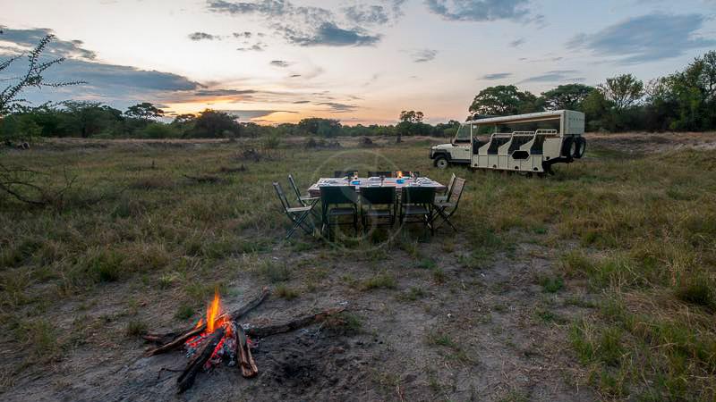Safari en campement itinérant, Safari en campement itinérant, Botswana © Tous droits réservés