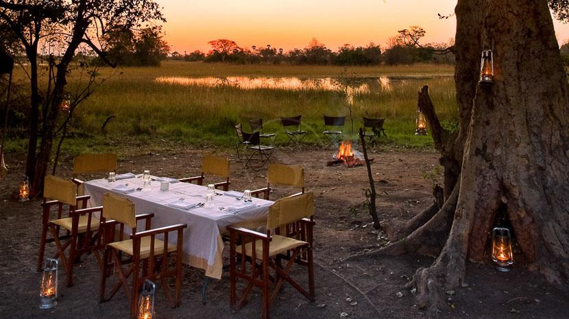 Safari en campement itinérant au Botswana, andBeyond Explorer Safari, Botswana © &Beyond