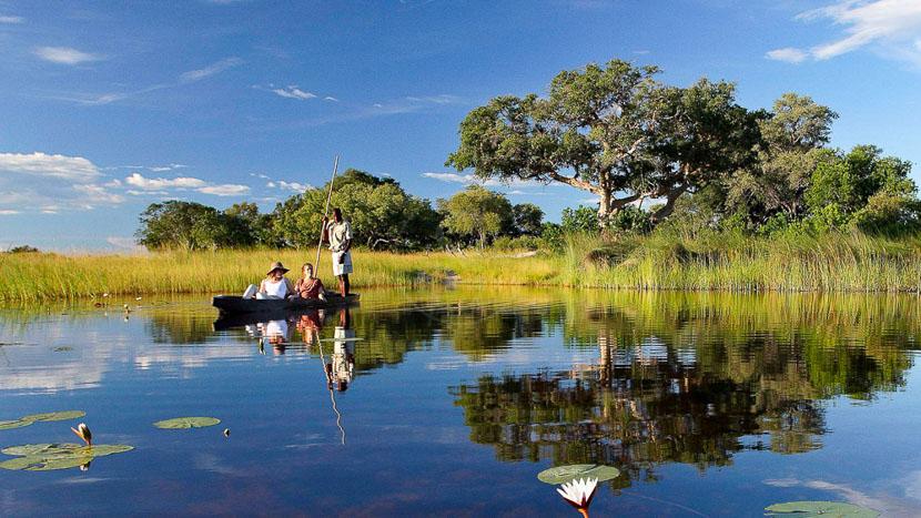 Delta de l'Okavango, Xudum Delta Lodge, Botswana © &Beyond