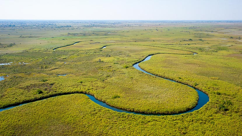 Delta de l'Okavango, Vumbura Plains Camp, Botswana © Wilderness Safaris