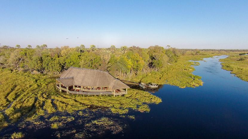Réserve de Moremi, Moremi Crossing, Botswana