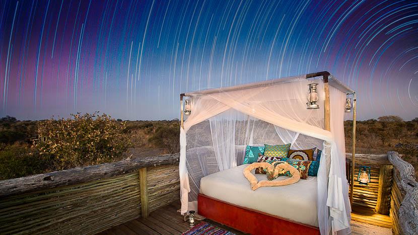 Skybed au Hyena Pan Camp, Hyena Pan Camp, Botswana © Natural Selection