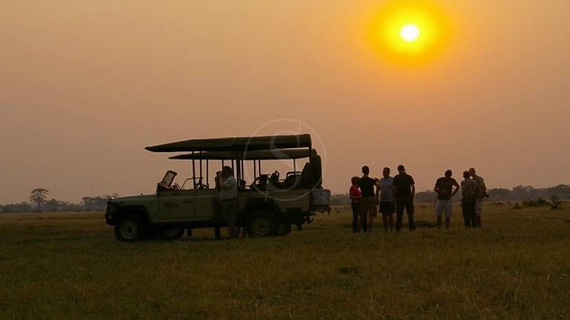 Savute, Campement itinérant, Botswana