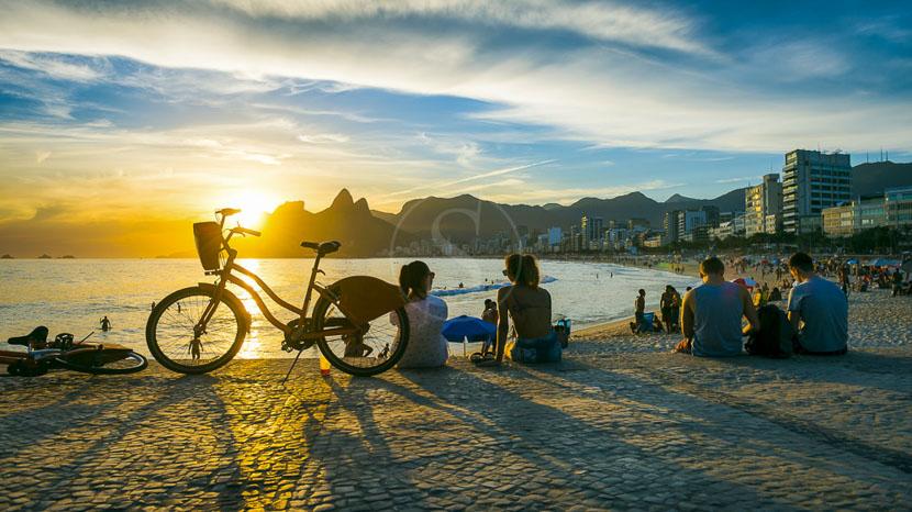 Les plages de Rio à vélo, Balade à vélo dans Rio, Brésil © Shutterstock