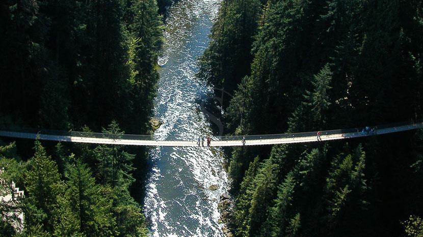 Capilano Suspension Park, Capilano Suspension Bridge, Canada