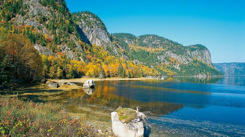 Fjord-du-Saguenay et Lac Saint-Jean, Fjord du Saguenay, Canada © OT Canada