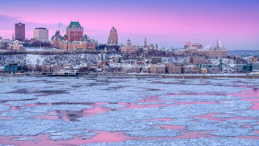 L'hiver au Québec, Ville de Québec, Canada © Office Tourisme