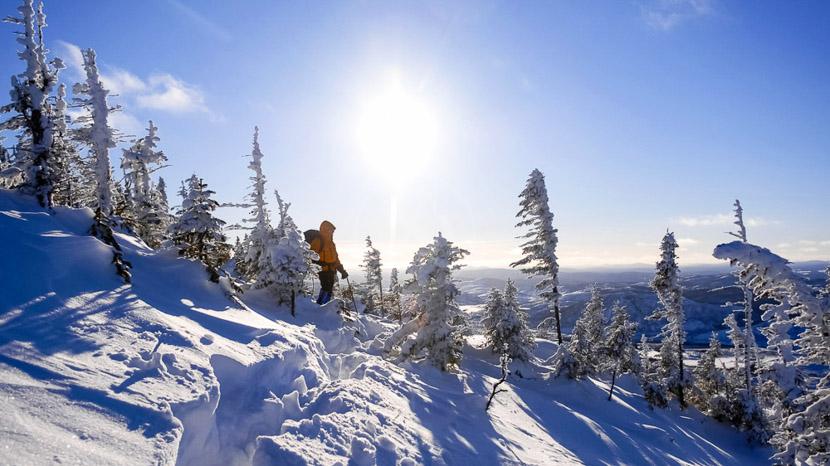L'hiver au Québec, Région de Charlevoix, Canada