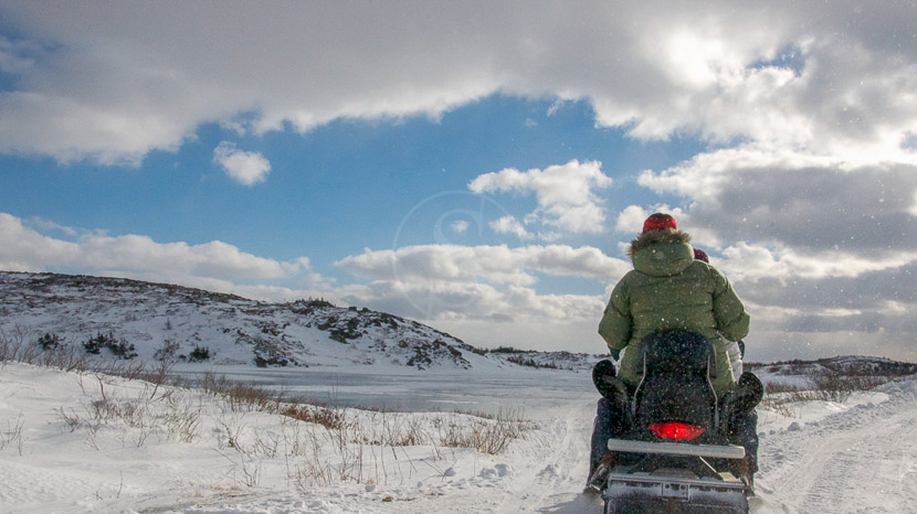 L'hiver au Québec, Fogo Island Inn, Canada © Alex Fradkin