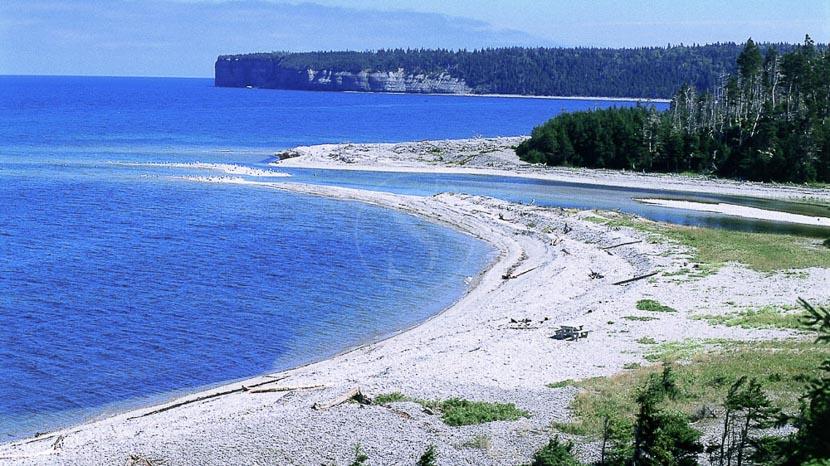 Île d'Anticosti, Rivière Jupiter sur l'île d'Anticosti © OT Canada