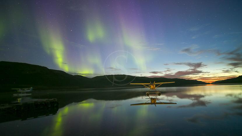 Les aurores boréales , Séjour au Rapid Lake, Labrador - Canada © Rémy Marion