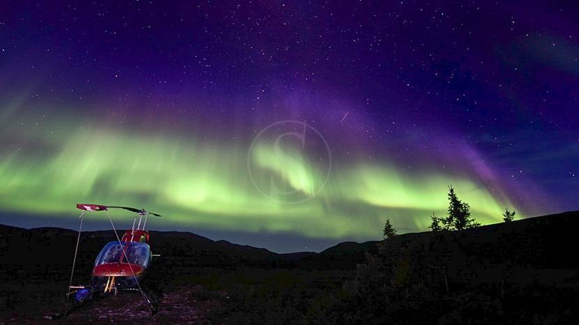 Les aurores boréales , Région du Labrador, Canada © Fabrice Simon