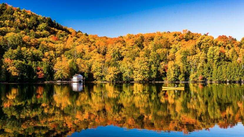Immersion estivale dans une Pourvoirie, Québec, Canada © Shutterstock