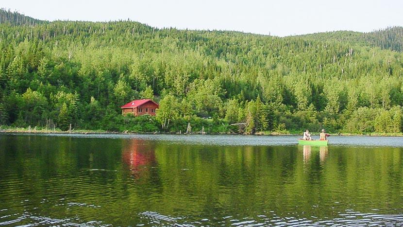 Immersion estivale dans une Pourvoirie, Auberge du ravage, Canada