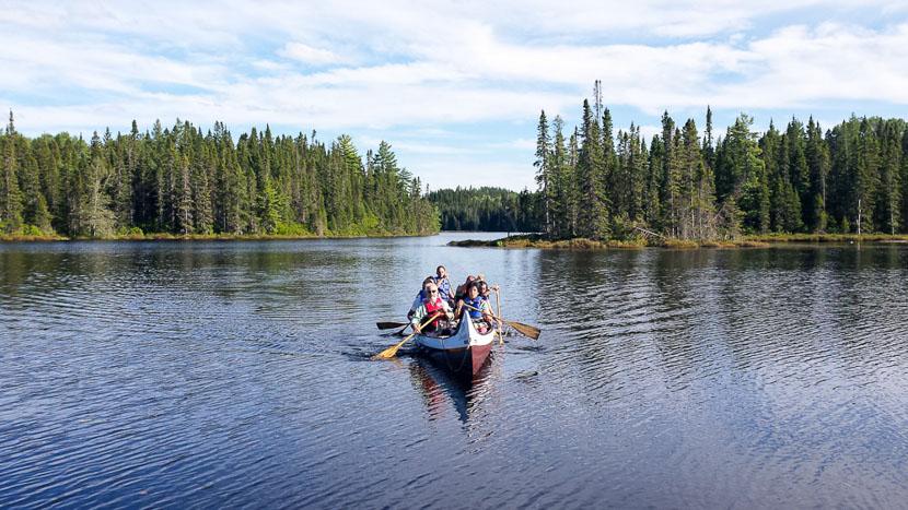 Immersion estivale dans une Pourvoirie, Lac Saint Jean Canyon Rabaska Ours, Canada