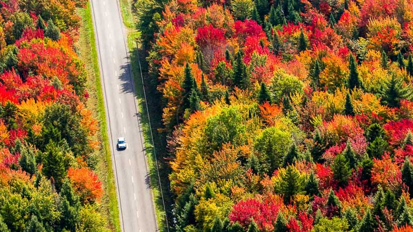 L'été indien au Québec, L'été indien au Québec, Canada © Shutterstock
